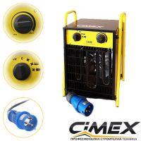 Електрически калорифер Cimex EL5.0S / 5 kW , 40-200 m³  /