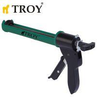 Професионален пистолет за силикон Troy / 5000 N /