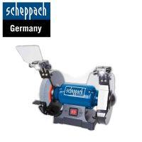 Настолен шмиргел Scheppach SM200AL / 500 W , Ø 200 / 20 мм /