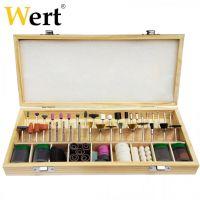 Комплект за рязане , гравиране и полиране Wert / 200 части /