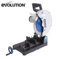Отрезна машина EVOLUTION 080-0003A EVOSAW355 диск за рязане на стомана /2200 W, 1300 rpm/