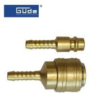 Бърза връзка и щуцер за маркуч GÜDE / 9 мм /
