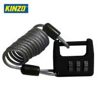 Карабинка за заключване на куфар със стоманена жица и цифрова ключалка Kinzo