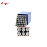 Комплект стоманени букви и цифри DEMA 18502 /4 мм, 36 части/