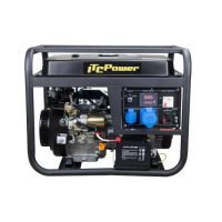 Мотогенератор ITC Power GG 9000 LE / 15 HP , 26 A /
