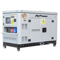 Дизелов мотогенератор трифазен / монофазен ITC Power DG 12000ХSE/Т, 12 к.с, 18 A (380V), 42 A (220V)
