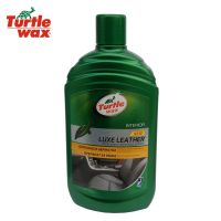 Почистване и защита на кожена тапицерия Turtle WAX leather cleaner and conditioner /500 мл./ - FG7883