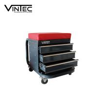 Сервизен стол VINTEC 73589 с колела и чекмеджета Делукс