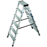 Алуминиева двустранна стълба KRAUSE DOPLO 2x6 /1,3 м /
