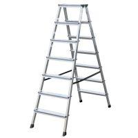 Алуминиева двустранна стълба KRAUSE DOPLO 2x7 /1,5 м /