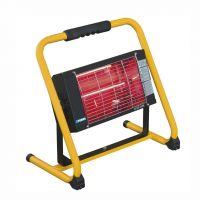 Електрически инфрачервен отоплител със стойка Fervi R609B 1300 W