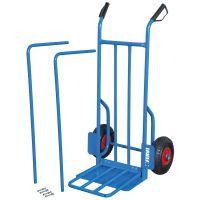 Количка тип ''гаров'' с пневматични колела Fervi C189 /до 150 кг