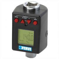 Дигитална динамометрична приставка Fervi / 1/2 '' , 40-200 Nm /