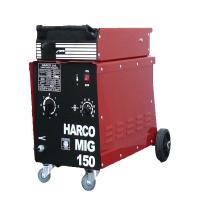Телоподаващ заваръчен апарат HARCO MIG 150 /220V/50Hz, 30-150 A/
