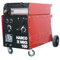 Телоподаващ заваръчен апарат HARCO MIG 160 /3x380V/50Hz, 30-160 A/
