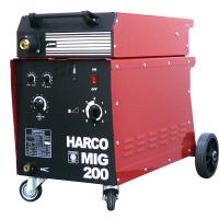 Телоподаващ заваръчен апарат HARCO Mig 200 profi /3x380V/50Hz, 40-200 A/