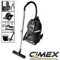 Прахосмукачка за сухо и мокро почистване CIMEX VAC30L / изтупване , 1200 W , 25 л /