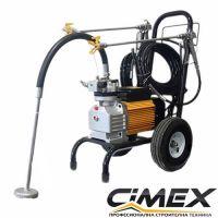 Машина за безвъздушно боядисване с мембранна помпа CIMEX X990 / 3000 W , 250 bar /