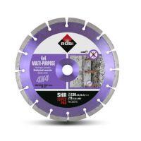 Диамантен диск за сухо рязане на армиран бетон Rubi / ф 230х 22.23 мм /