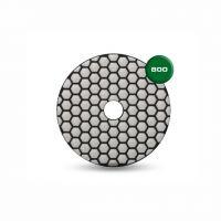 Диск за полиране на мрамор Rubi / ф 100 мм , P 800 /