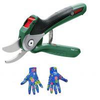 Акумулаторна градинска лозарска ножица Bosch EasyPrune / 3,6 V , 25 мм /