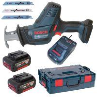 Акумулаторен саблен трион Bosch GSA 18 V-Li Compact / 18 V , 5,0 Ah , 200 мм /