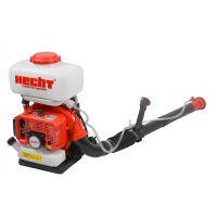 Моторна бензинова пръскачка HECHT 459 с помощна помпа вертикално пръскане /3.6 к.с., 16 м., 14 л./