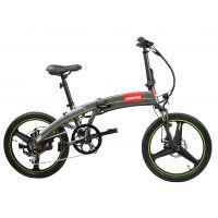 Електрическо акумулаторно сгъваемо колело Hecht COMPOS /250 W, 22 кг./, батерия Samsung