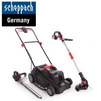 Акумулаторен градински комплект Scheppach GS18-3Li / 18 V , 2 x 4 Ah /