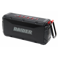 Преносим Bluetooth високоговорител Raider RD-PBS01