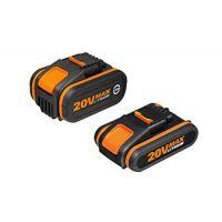 Акумулаторни батерии  WORX WA3605/ Li-ion 20 V 2.0 Ah + 4.0 Ah /