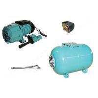 Хидрофорна помпа - система AquaTecnica DP 355AY/24 /външен ежектор, разширителен съд 24л./- мостра