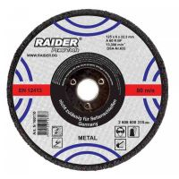 Диск за шлайфане RAIDER 125х6х22.2mm, 160110