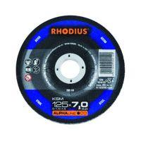 Диск карбофлексов за шлайфане на метал Rhodius Alpha line KSMRS ф 125 х 6.0 х 22.2