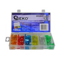 Комплект автомобилни предпазители/бушони GEKO G02809 / 120 броя (5/20)/