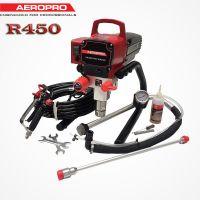 Професионална бутална машина за безвъздушно боядисване  AeroPro R450 /  2,4 л/мин. ; 900W.