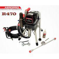 Професионална бутална машина за безвъздушно боядисване AeroPro R470 / 2,5 л/мин. ; 950 W /
