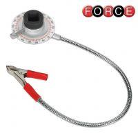 Градусомер Force 9G1801 / магнитен ,1/2'',  със щипка  /