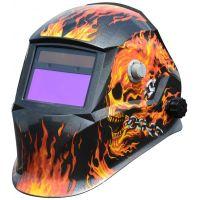 Заваръчен фотосоларен шлем Hecht  900252 / DIN 9 - DIN 13,  UV/IR DIM 16, 100x50 mm /