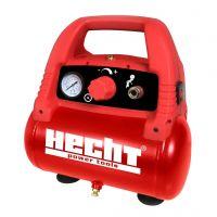 Безмаслен портативен компресор Hecht 2806  /1100 W,  8 bar/, бутилка 6 л.