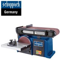 Лентов и дисков шлайф Scheppach BTS900 / 370 W, ф 150 mm , 915/100 мм  /
