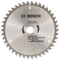 Циркулярен Диск за алуминий,ECO for ALU, Bosch, 160x2.0/ 1.4x20 42 зъба