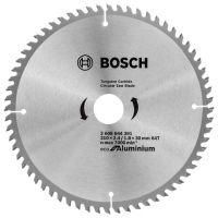 Циркулярен Диск за алуминий,ECO for ALU, Bosch, 210x2.4/ 1.8x30 64 зъба