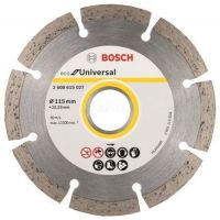 Диамантен диск ECO Universal 115mm, Bosch, комплект 10 броя