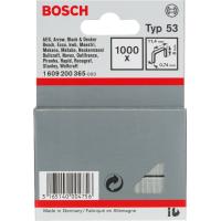 Скоба от фина тел тип 53, Bosch, 11,4 x 0,74 x 8 mm, 1000 броя