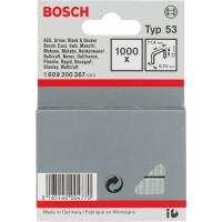 Скоба от фина тел тип 53, Bosch, 11,4 x 0,74 x 12 mm, 1000 броя