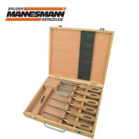 Комплект инструменти за дърворезба  Mannesmann / 7 броя /