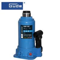 Хидравличен крик тип бутилка GÜDE GSH 10T / 10 T, 195-385 мм /