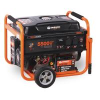 Бензинов монофазен генератор DAEWOO GD6500E /ел.старт, 5.0/5.5 kW, 25 l/