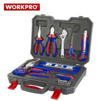 Комплект инструменти в куфар Workpro / 28 части /